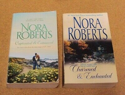 """Nora Roberts """"The Donovan Legacy"""" Complete Series of 4 Novels in Lot 2 PB Book"""