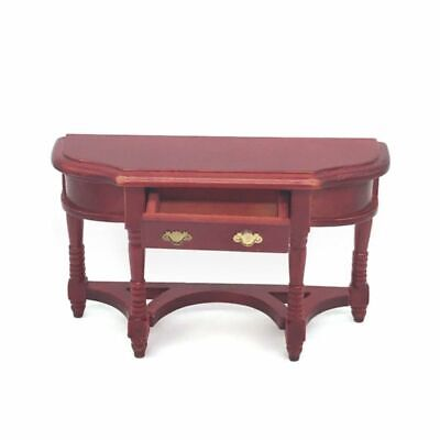 1:12 Miniature Dollhouse Furniture Wooden Dining Table Doll House Kitchen Decor