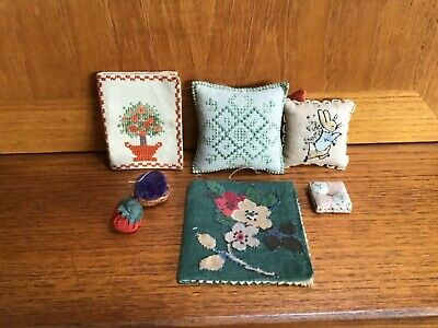 Vintage Collectable sewing items. peter Rabbit Pin cushion and others