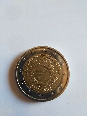 2 euro commemorativi Germania 2012 zecca F