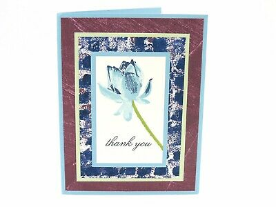 Stampin Up Card Thank You Card Stampin Up Thank You Cards Greeting Card