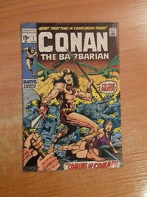 Conan the Barbarian 1st Issue 1970 * First Appearance * Origin *Marvel Comics #1