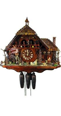 Cuckoo Clock Black Forest House 5.8800.01.P NEW