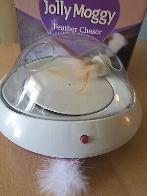 Rosewood Jolly Moggy Feather Chaser  Cat Toy
