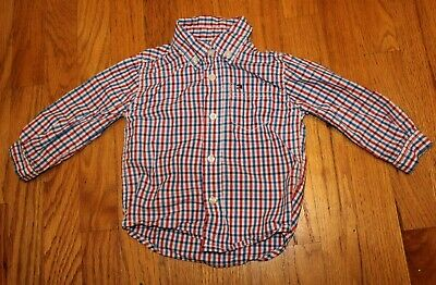 Tommy Hilfiger baby boy button down shirt 18M toddler