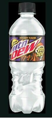 👻1x 20oz mountain dew voodew bottle in hand voodoo limited edition going FAST😥
