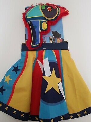 Dog Life Super Hero Cape And Squeaky Toy Blaster S/M