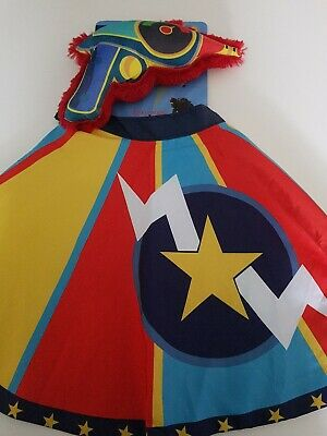 Dog Life Super Hero Cape And Squeaky Toy Blaster M/L