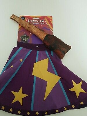 Dog Life Wizard Cape And Squeaky Wand Dog Toy S/M