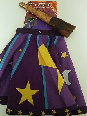 Dog Life Wizard Cape And Squeaky Wand Dog Toy M/L