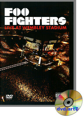 DVD : FOO FIGHTERS : LIVE AT WEMBLEY STADIUM - concert 2008