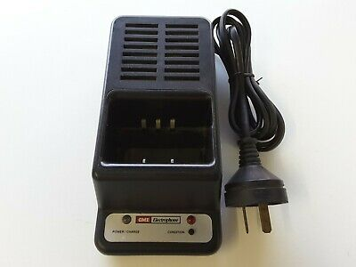 Desktop Rapid Charger suit TX6000 uhf Charging Cradle with battery conditioner