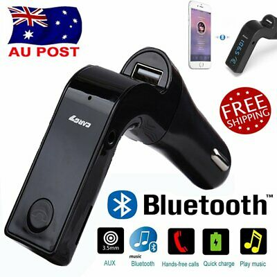 Handsfree Car FM Transmitter Wireless Bluetooth LCD Stereo MP3 Radio Charger BP