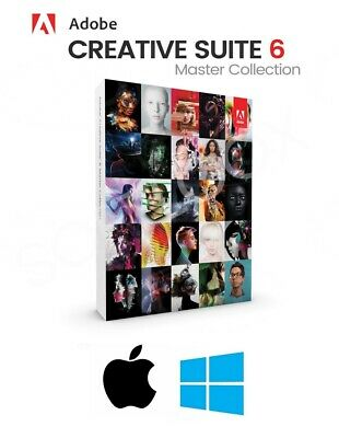 Adobe CS6 Master Collection - Full Version
