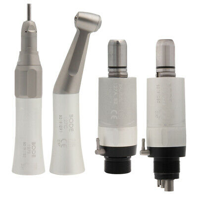 Dental Low Speed Handpiece Air Turbine Straight Contra Angle Air Motor 2/4Holes
