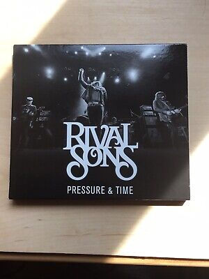 Pressure and Time [Deluxe Edition] [Bonus DVD] [Bonus Tracks] by Rival Sons (CD,