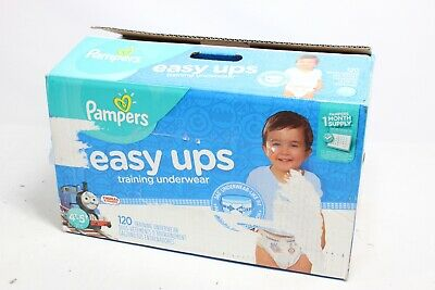 Pampers Easy Ups Training Pants Pull On Disposable Diapers 10037000969218 - New