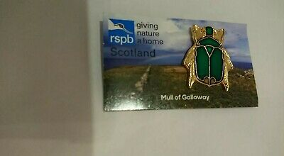 RSPB Pin Badge Mull Of Galloway Rose Chafer Beetle