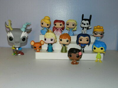Funko POP Lot of Figures Disney Inside Out Ariel Cinderella Oswald Frozen