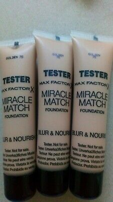 MAX FACTOR Miracle MATCH FOUNDATION15 ml , 75 Golden