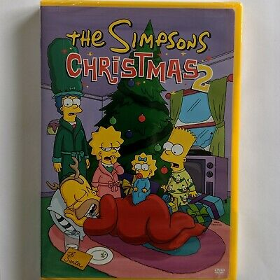 The Simpsons Christmas 2 (DVD, 2004), 4 shows one disc