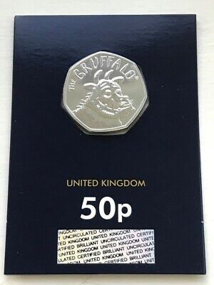 50p Coin - The Gruffalo - 2019 Brilliant Uncirculated Certified BUNC