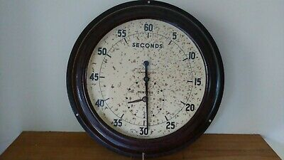 Rare Vintage 1940's Smiths Bakelite Wall Clock Timer for Photography