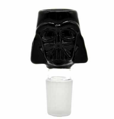 STARWARS Darth Vader Black Glass Male Bowl Glass Bongs Water Hookahs Accessories