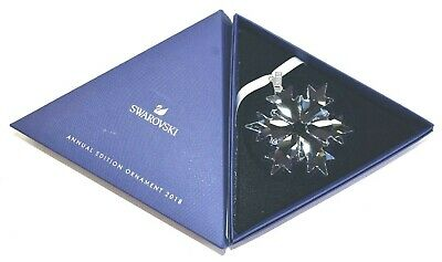 Swarovski Crystal 2018 Annual Edition Ornament 2 Limited Ornament New 5301575