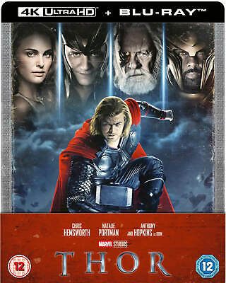 Thor - 4K Ultra HD + 2D Blu-ray UK Limited Edition STEELBOOK, Marvel, Pre-Order