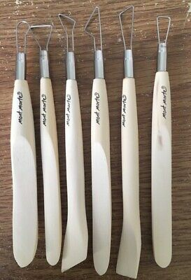 Mont Marte Single End Tools 6 Piece Set New Clay Sculpting
