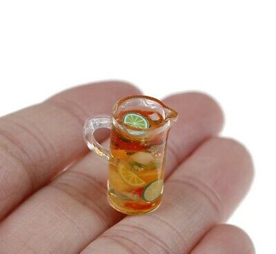 Miniature dolls house Accessories Jug of fruit Punch1:12th scale miniature size