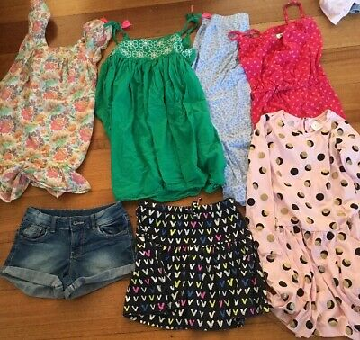 Girls Size 7 Bulk Lot Clothing