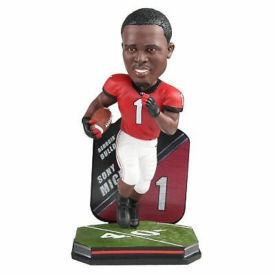 Sony Michel Georgia Bulldogs Name and Number Special Edition Bobblehead NCAA