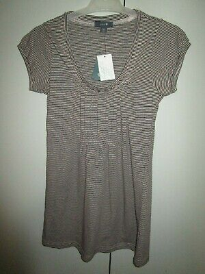 Ladies Patch Maternity stripe top Size XS       NWT