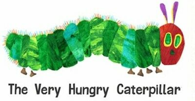 The Very Hungry Caterpillar Quilt Panel * Free Post * Unisex Baby Panel *