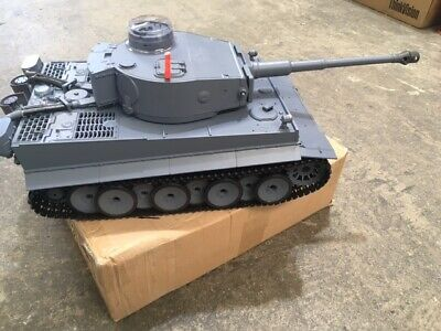 Heng Long 3818-1 Germany Tiger I Tank Radio Controlled RC Battle Tank 2.4G 1:16