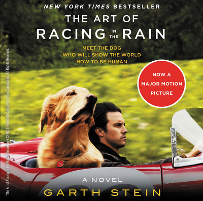 The Art of Racing in the Rain: A Novel (2018, Paperback) by Garth Stein, NEW