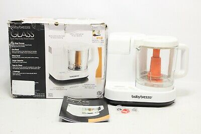 Baby Brezza Glass Baby Food Maker - Steamer and Blender -  BRZ00131S - Preowned