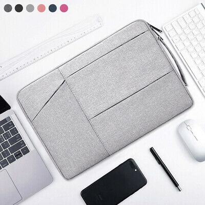 Notebook Cover Sleeve Case Shockproof Laptop Bag For MacBook HP Dell Lenovo
