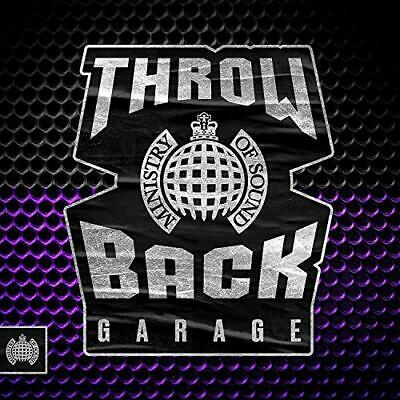 Various-Throwback Garage - Ministry of Sound CD NEW