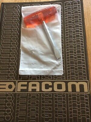 FACOM AGT.10X100 Isoryl Slotted Forged Blade T-Handle Screwdriver 10x100mm