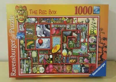 Ravensburger 'THE RED BOX' 1000 piece Jigsaw Puzzle by Colin Thompson 19398