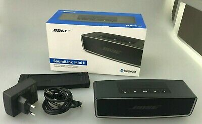 Bose SoundLink Mini II - Carbon - inkl. Ladestation