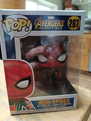 Funko 26465 Pop Marvel Avengers Infinity War - Iron Spider Man Collectible Figur