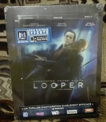 Looper Steelbook + Lenticular Blu-Ray French Edition