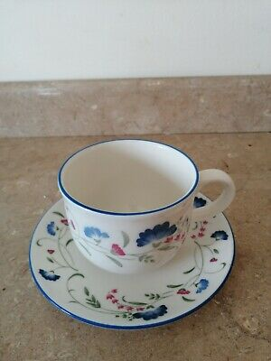 Royal Doulton  Expressions Windermere Cup & Saucer Excellent