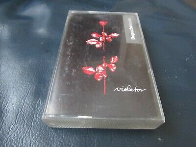 Depeche Mode - Violator - Cassette Tape ( Paper Labels )
