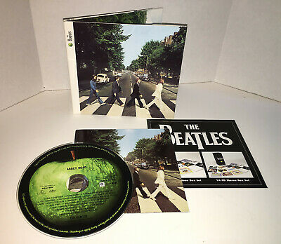 ABBEY ROAD by The Beatles 2009 Remaster in Digipak with Bonus Mini Documentary