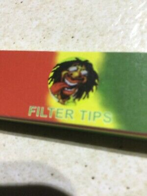 One Roach Booklet Colour Printed Cigarette Filter Tips Roaches.funny Cover Face.